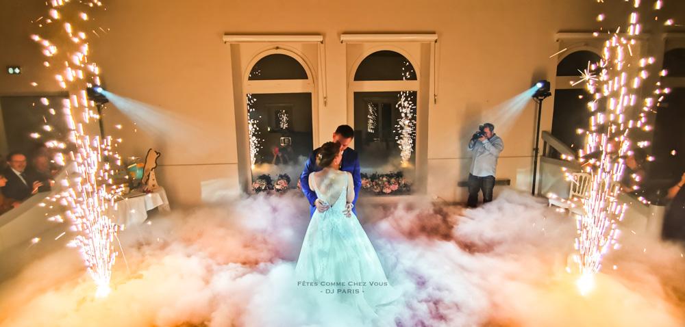 Danse sur les nuages, fumée lourde et ouverture de bal